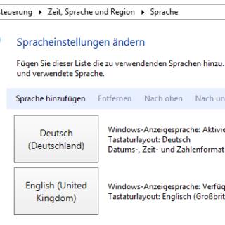 Windows Server 2012 R2 - Sprachpakete installieren