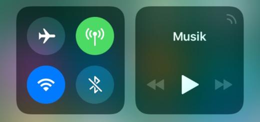 iOS 11: Das Kontrollzentrum anpassen