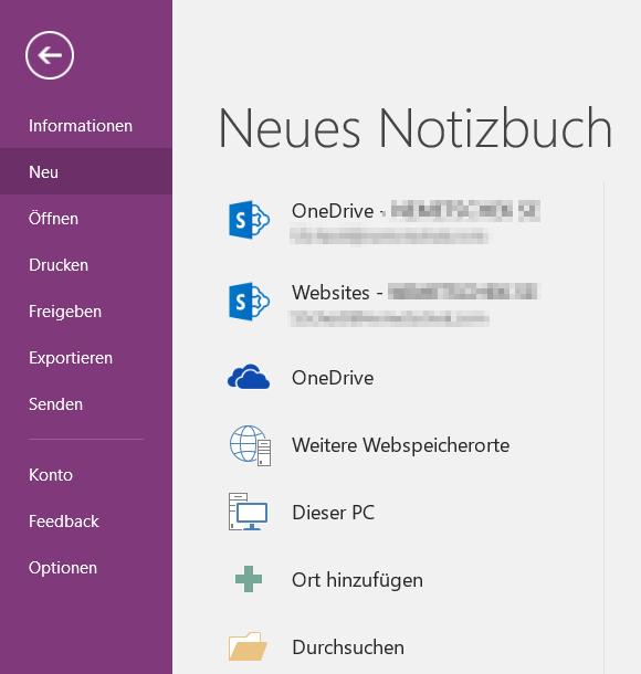 Zugriff auf OneDrive for Business aus Office 2016 heraus