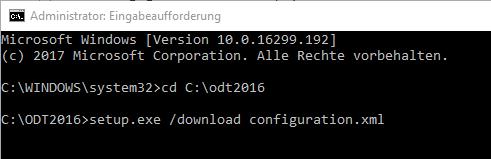 Syntax für den Dateidownload von Office 2016