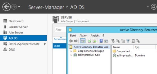 Active Directory unter Windows Server 2012 R2 installieren und konfigurieren