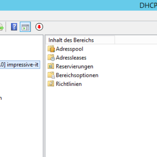 DHCP-Server unter Windows Server 2012 R2 installieren und konfigurieren