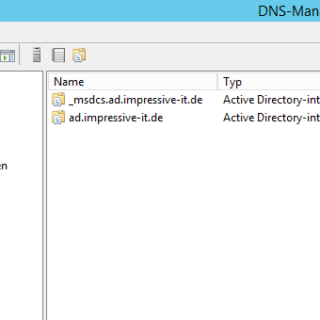 DNS-Server unter Windows Server 2012 R2 konfigurieren