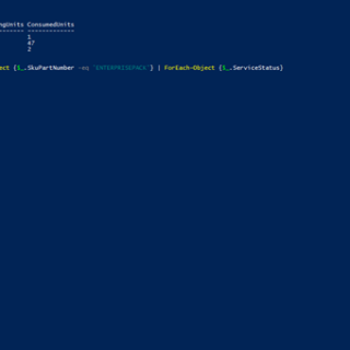 Office 365: Lizenzoptionen per PowerShell deaktivieren