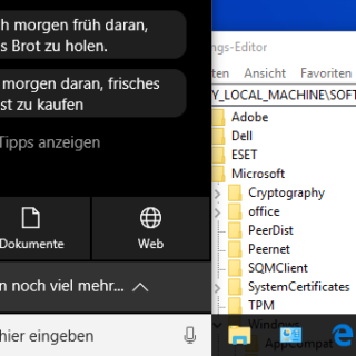 Windows 10: Cortana deaktivieren