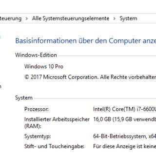 Welche Windows 10-Edition habe ich installiert?